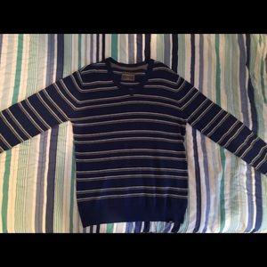 (NWOT) Aeropostale New Blue Gray Striped Sweater